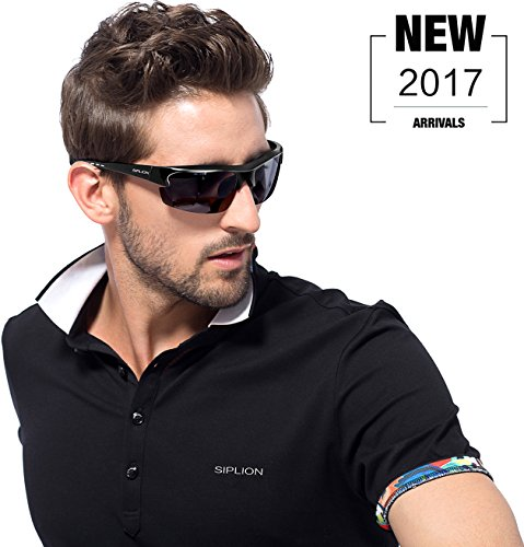 a298d205df SIPLION Men s Polarized Sunglasses Sports Cycling Fishing Golf TR90  Superlight Frame. Q it this a morrior sunglasses  A Yes