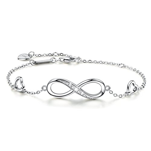 9cbee354828df0 ... Bracelet For Women Girls. Crafted in. 925 sterling silver. Best  birthday christmas mother's day valentine's day Present Ever!!!