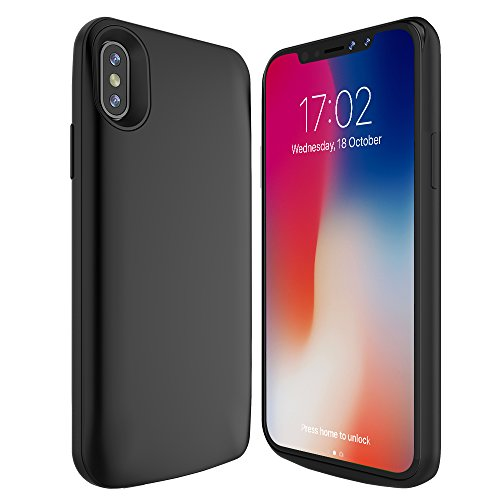 save off 2062a 25303 iPhone X Battery Case, BEAOK 6000mAh Portable Charger Case External ...
