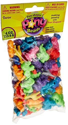 Limited Edition Darice 1100 Piece Pony Heart Shape Bead Multicolor